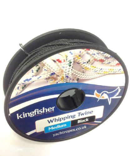 Kingfisher Marine Medium Whipping Twine 20m approx Black